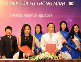 Trà thanh nhiệt Dr Thanh đồng hành cùng Hoa khôi Sinh viên 2017
