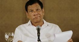 Cứng rắn với chiến dịch chống tội phạm, Tổng thống Philippines cho phép bắn người chống cự khi bị bắt giữ