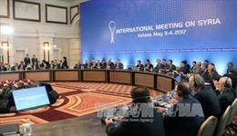 Ấn định thời điểm diễn ra vòng hòa đàm tiếp theo về Syria