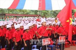 Học sinh vùng lũ Mường La phấn khởi đón ngày khai giảng sớm