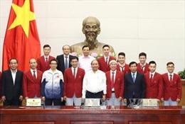 Đoàn Thể thao Việt Nam tham dự SEA Games 29 báo công với Thủ tướng