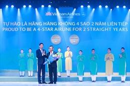 Vietnam Airlines tiếp tục khẳng định vị thế hãng hàng không 4 sao