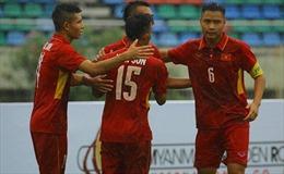 Giải U18 Đông Nam Á: U18 Việt Nam nối tiếp đại thắng trước Philippines