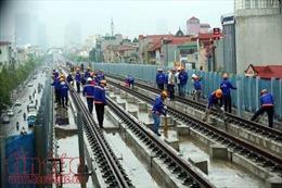 Lùi thời gian chạy thử đường sắt tuyến Cát Linh - Hà Đông tới 2/9/2018