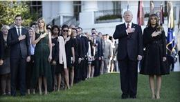 Tổng thống Trump lần đầu chủ trì lễ tưởng niệm các nạn nhân 11/9 tại Nhà Trắng
