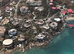 Cận cảnh hòn đảo của tỷ phú Richard Branson bị bão Irma phá hủy tan hoang