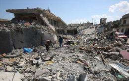 Mỹ tiết lộ 81 vị trí bom chưa phát nổ tại Mosul