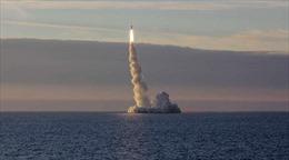 Tàu ngầm Nga 'dội bão' tên lửa hành trình tiêu diệt mục tiêu IS ở Syria