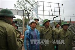 Kiểm tra công tác ứng phó với bão số 10 tại Hà Tĩnh