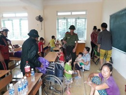 Bão số 10: Nghệ An sơ tán 17.000 người dân vùng ven biển, miền núi