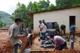 Biên phòng Lào Cai giúp dân xây dựng nông thôn mới