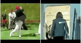 Tổng thống Trump lại 'gây bão' với cảnh đánh golf nhằm vào bà Clinton