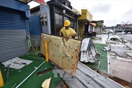 Bão Maria càn quét vùng lãnh thổ Puerto Rico của Mỹ