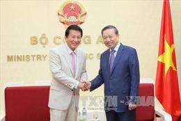 Bộ trưởng Tô Lâm tiếp Đại sứ đặc biệt Việt Nam - Nhật Bản và Đại sứ Thổ Nhĩ Kỳ