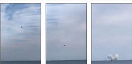 Chiến đấu cơ trình diễn bất ngờ lao xuống biển, phi công chết thảm