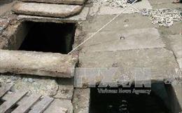 Một phụ nữ bị nước mưa cuốn xuống hệ thống thoát nước của thành phố Buôn Ma Thuột