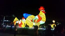 Ngắm những chiếc đèn lồng khổng lồ ở Tuyên Quang