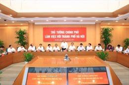 Thủ tướng: Phát triển Hà Nội văn minh, có bản sắc và phải thượng tôn pháp luật