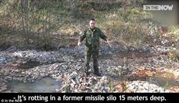 Đoàn thám hiểm Nga phát hiện đầm lầy tiền trị giá 1 tỉ ruble