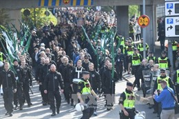 Biểu tình dẫn tới đụng độ tại Thụy Điển