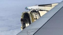 Động cơ rách bươm, máy bay Air France hạ cánh khẩn