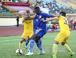 V.League 2017: Sông Lam Nghệ An thắng Sài Gòn FC 2 - 0