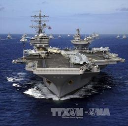 Tàu sân bay Mỹ rời Nhật Bản đến Ấn Độ Dương - Thái Bình Dương