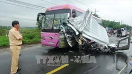Vụ tai nạn khiến 16 người thương vong tại Tây Ninh là do tài xế ngủ gật