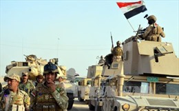 Các lực lượng Iraq giành lại một vị trí chiến lược từ tay IS