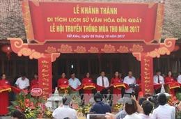 Hải Dương hoàn thành trùng tu ngôi đền trên 700 tuổi
