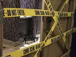 Hình ảnh đầu tiên về căn phòng la liệt súng đạn của hung thủ xả súng Las Vegas