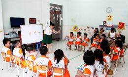 Khánh Hòa tiếp tục thí điểm dạy ngoại ngữ trong trường mầm non