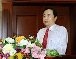 Chủ tịch Ủy ban Trung ương MTTQ Việt Nam gặp mặt doanh nhân, doanh nghiệp tiêu biểu