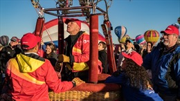 Khinh khí cầu Vietjet biểu diễn tại Mỹ
