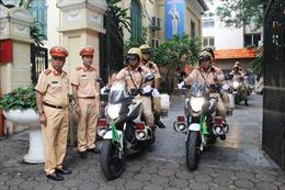 Hà Nội cử 100 cảnh sát giao thông vào Đà Nẵng phục vụ APEC