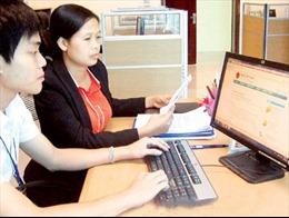 Hà Nội tiếp nhận hồ sơ khai thuế điện tử hai bước