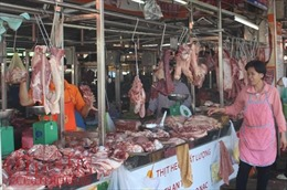 Giá thịt lợn đang giảm tại các tỉnh phía Nam sau vụ tiêm thuốc an thần