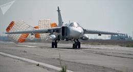 Rơi máy bay chiến đấu Su-24 Nga tại Syria, phi hành đoàn tử nạn