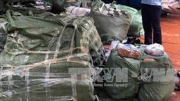 Bắt giữ vụ vận chuyển hàng hóa nhập lậu từ Trung Quốc