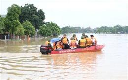 Ba xã bị ngập lụt tại huyện Chương Mỹ là vùng thấp, không được ở