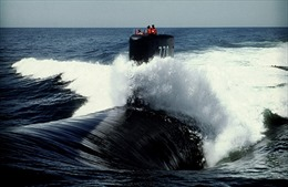 Sức mạnh tàu ngầm hạt nhân Mỹ đang áp sát Triều Tiên