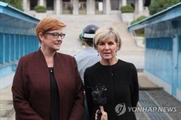 Bộ trưởng Quốc phòng và Ngoại giao Australia thăm biên giới liên Triều