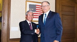 Đại sứ Việt Nam tại Hoa Kỳ thăm làm việc tại bang Washington