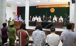 Bị cáo Châu Thị Thu Nga bị tuyên án tù chung thân