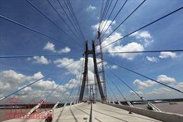 Dồn lực thi công thông xe Cầu Vàm Cống cuối năm 2017