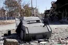 Cận cảnh tàn tích IS bỏ lại ở Syria sau khi tháo chạy vì thất trận