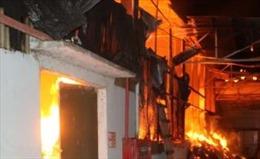 Cháy nhà trọ khu đông dân cư tại phường Cổ Nhuế 2, Hà Nội