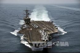 Mỹ điều tàu sân bay USS Theodore Roosevelt tới châu Á - Thái Bình Dương
