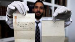 Tờ giấy với chiêm nghiệm về hạnh phúc của Einstein có giá hơn 1,5 triệu USD