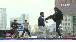 Hàng nghìn chiến sĩ cảnh sát quyết tâm bảo đảm tuyệt đối cho Tuần lễ Cấp cao APEC